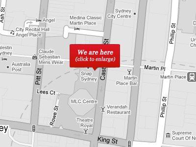 Sydney Google Map